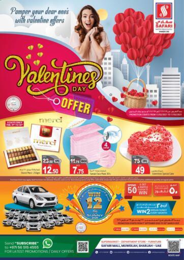 UAE - Dubai Safari Hypermarket  offers in D4D Online. Valentines Day Offer. . Till 17th February