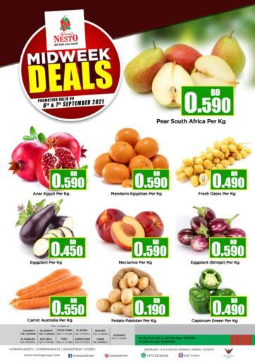 Bahrain NESTO  offers in D4D Online. Midweek Deals. . Till 7th September