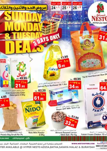 KSA, Saudi Arabia, Saudi - Al Khobar Nesto offers in D4D Online. Sunday Monday & Tuesday Deals. . Till 26th January