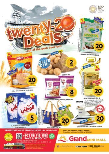 UAE - Dubai Grand Hyper Market offers in D4D Online. Mini Mall - Dubai. . Till 16th October