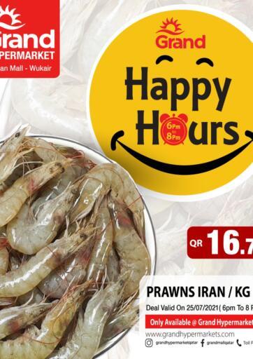 Qatar - Al-Shahaniya Grand Hypermarket offers in D4D Online. Happy Hours. . One day Offer