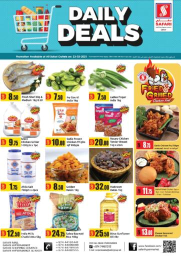 Qatar - Al Wakra Safari Hypermarket offers in D4D Online. Daily Deals. . Only On 23rd March