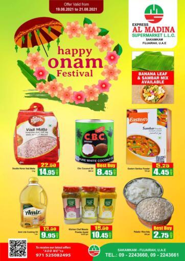 UAE - Fujairah Al Madina Supermarket LLC offers in D4D Online. Sakamkam, Fujairah. . Till 21st August