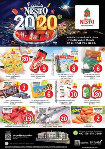 UAE - Sharjah / Ajman Nesto Hypermarket offers in D4D Online. King Faisal ,Sharjah. . Till 23rd October