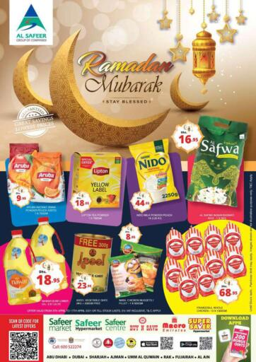 UAE - Abu Dhabi Safeer Hyper Markets offers in D4D Online. Ramadan Mubarak. . Until Stock Last