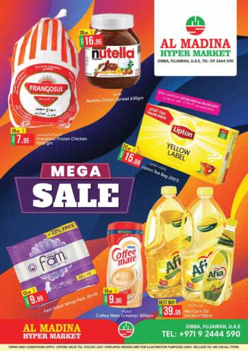 UAE - Fujairah Al Madina Supermarket LLC offers in D4D Online. Dibba, Fujairah. . Till 4th September