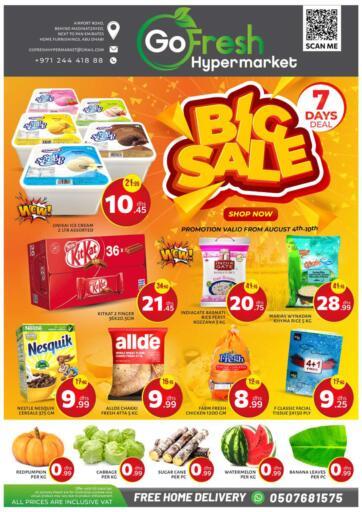 UAE - Abu Dhabi GO FRESH HYPERMARKET LLC offers in D4D Online. Big Sale. . Until Stock Lasts