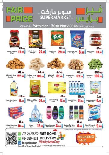 UAE - Abu Dhabi Fair Price Supermarket LLC offers in D4D Online. Weekend Sale. . Till 30th March