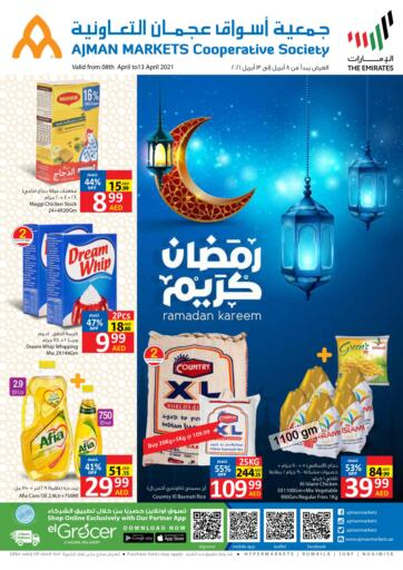 UAE - Sharjah / Ajman Ajman Markets Cooperative Society offers in D4D Online. Ramadan Kareem. . Till 13th April