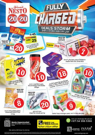 UAE - Sharjah / Ajman Nesto Hypermarket offers in D4D Online. Karama 1, Dubai. . Till 9th October