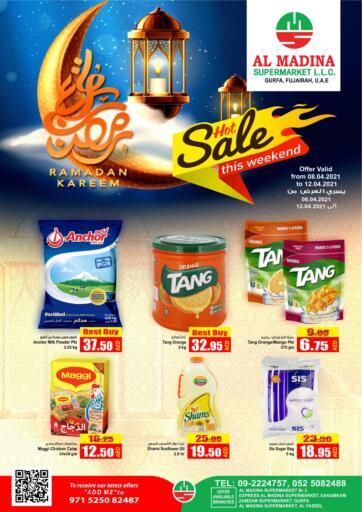 UAE - Fujairah Al Madina Supermarket LLC offers in D4D Online. Hot Sale. . Till 12th April