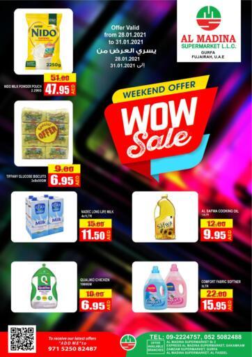UAE - Fujairah Al Madina Supermarket LLC offers in D4D Online. Weekend Offer. . Till 31st January