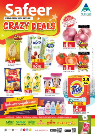 UAE - Abu Dhabi Safeer Hyper Markets offers in D4D Online. Crazy Deals.