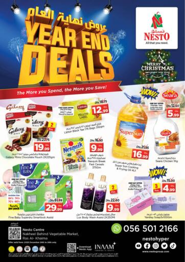 UAE - Ras al Khaimah Nesto Hypermarket offers in D4D Online. Ras Al Khaima. . Till 26th December