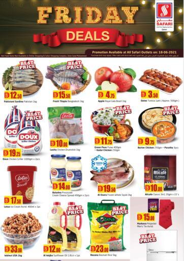 Qatar - Al-Shahaniya Safari Hypermarket offers in D4D Online. Friday Deals. . Only On 18th June