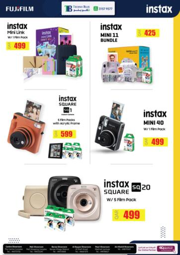 Qatar - Al Khor Techno Blue offers in D4D Online. Gift your loved ones an instax. . Till 25th September