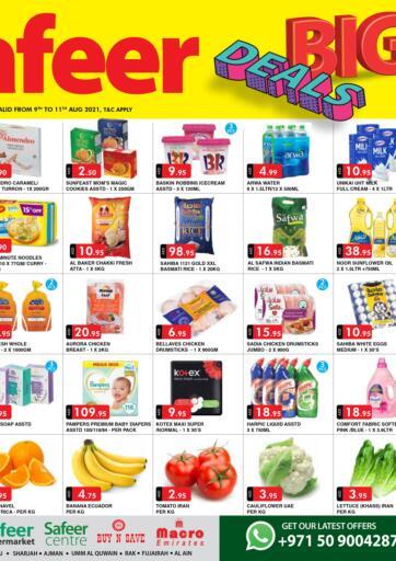 UAE - Sharjah / Ajman Safeer Hyper Markets offers in D4D Online. Big Deals. . Till 11th August