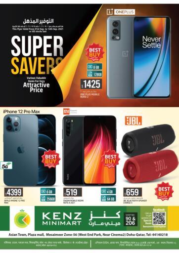 Qatar - Doha Kenz Mini Mart offers in D4D Online. Super Saver. . Till 14th September