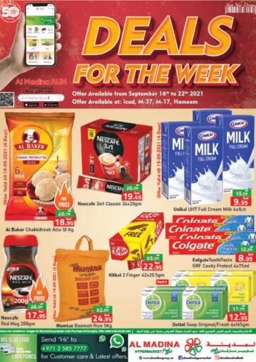UAE - Abu Dhabi Al Madina Hypermarket offers in D4D Online. Deal Of The Week @ICAD, M-37, M-17, Hameem. . Till 22nd September