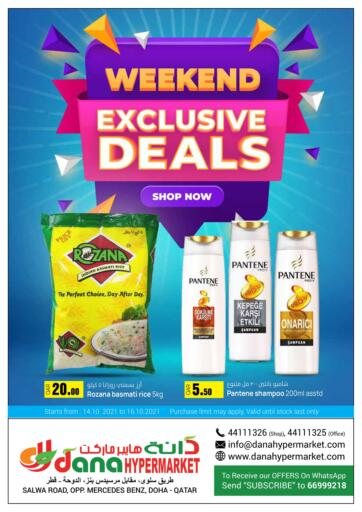 Qatar - Al Wakra  Dana Hypermarket offers in D4D Online. Weekend Exclusive Deals. . Till 16th October