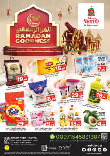 UAE - Dubai Nesto Hypermarket offers in D4D Online. Al Bada'a Satwa, Dubai. . Till 10th April