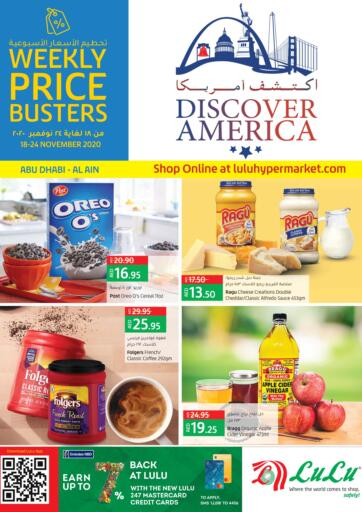 UAE - Ras al Khaimah Lulu Hypermarket offers in D4D Online. Discover America. Discover America At Lulu Hypermarket. Purchase your favorites during this amazing time!! Offers Going For Fresh Foods , Groceries, Electronics, Home Needs, etc Everything Under One Roof ! Offer is valid till  24th  November Start Shopping!. Till 24th November