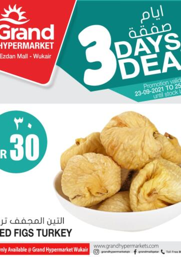Qatar - Al-Shahaniya Grand Hypermarket offers in D4D Online. 3 Days Deal @ Wukair. . Till 25th September