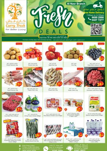 Qatar - Al-Shahaniya Carry Fresh Hypermarket offers in D4D Online. Fresh Deals @ Al Naser. . Till 06th October