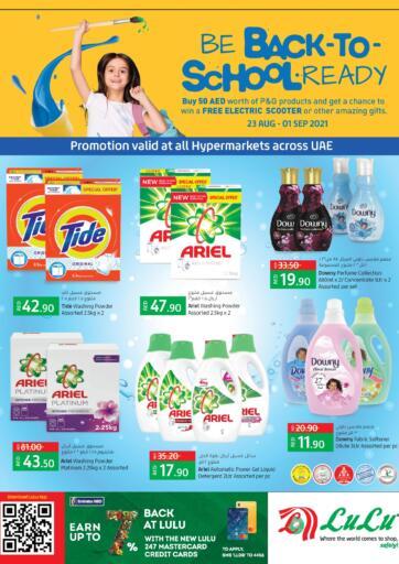 UAE - Sharjah / Ajman Lulu Hypermarket offers in D4D Online. Back to School 📚✏️. . Till 1st September