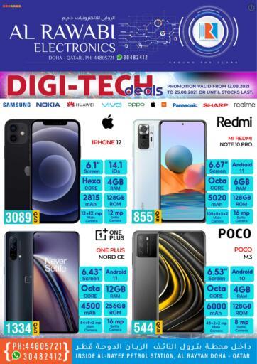 Qatar - Doha Al Rawabi Electronics offers in D4D Online. DIGI-TECH DEALS. . Till 25th August