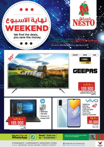 Oman - Muscat Nesto Hyper Market   offers in D4D Online. Weekend Deals@ Wadi Kabir. . Till 21st March