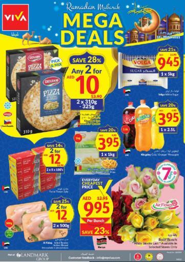 UAE - Dubai Viva Supermarket offers in D4D Online. Mega Deals. . Till 20th April