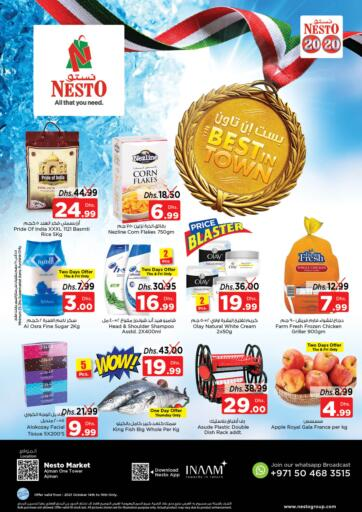 UAE - Fujairah Nesto Hypermarket offers in D4D Online. Al Rumaila , Ajman. . Till 16th October