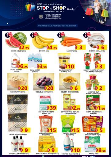 Qatar - Doha New Stop n Shop @Fereej Bin Omran offers in D4D Online. Special Offer. . Till 31st July