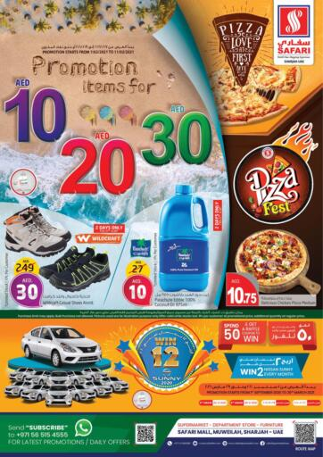 UAE - Dubai Safari Hypermarket  offers in D4D Online. 10 20 30 Promotion. . Till 11th February