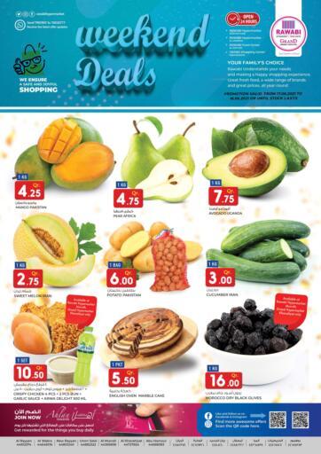Qatar - Al-Shahaniya Rawabi Hypermarkets offers in D4D Online. Weekend Deals. . Till 18th June