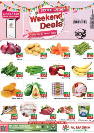 UAE - Abu Dhabi Al Madina Hypermarket offers in D4D Online. Weekend Deals. . Till 27th March