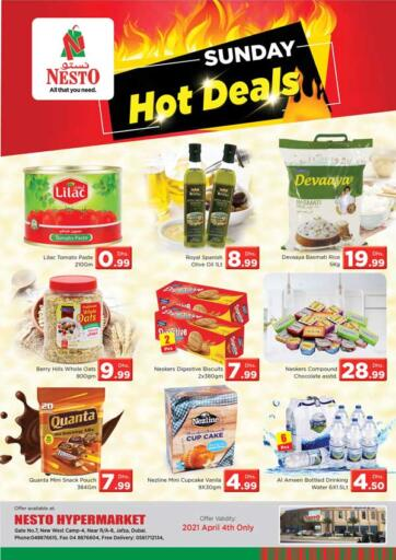 UAE - Dubai Nesto Hypermarket offers in D4D Online. Jafza, Dubai. Get Great Offers On Your Favorite Products At Exciting Offers. Visit Your Nearest Store Before 04th April 2021.  Enjoy Shopping!!!. Only On 04th April