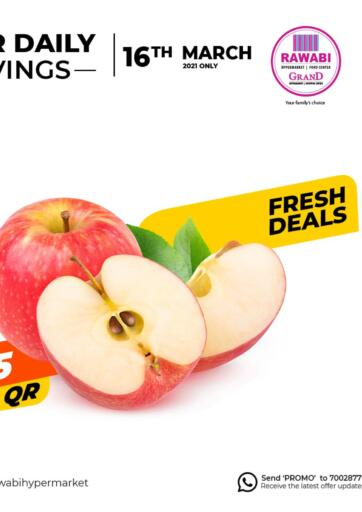 Qatar - Al Wakra Rawabi Hypermarkets offers in D4D Online. Fresh Deals. . Only On 16th March