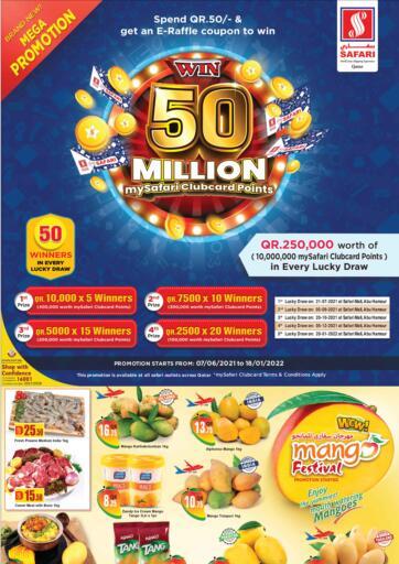 Qatar - Al-Shahaniya Safari Hypermarket offers in D4D Online. Mango Festival. . Only On 10th June