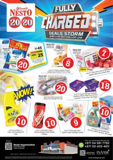 UAE - Dubai Nesto Hypermarket offers in D4D Online. Umm Al Quwain. . Till 9th October