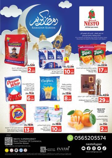 UAE - Sharjah / Ajman Nesto Hypermarket offers in D4D Online. Corniche, Ajman. . Till 21st April