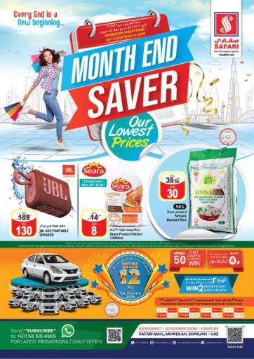 UAE - Dubai Safari Hypermarket  offers in D4D Online. Month End Saver. . Till 02nd December