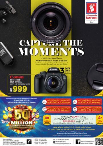 Qatar - Al-Shahaniya Safari Hypermarket offers in D4D Online. Capture This Moments. . Till 30th August