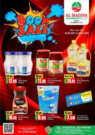 UAE - Fujairah Al Madina Supermarket LLC offers in D4D Online. Gurfa, Fujairah. . Till 2nd October