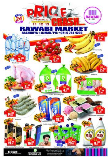 UAE - Sharjah / Ajman Rawabi Market Ajman offers in D4D Online. Price Crash. . Till 13th March
