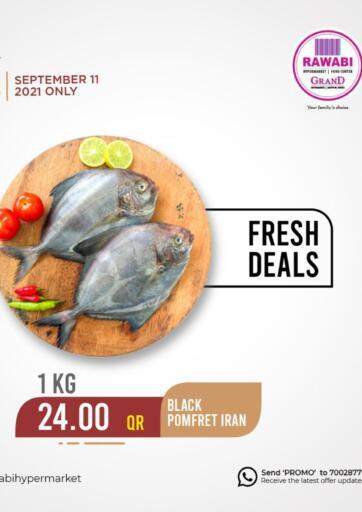 Qatar - Al Rayyan Rawabi Hypermarkets offers in D4D Online. Fresh Deals. . Only 11th September