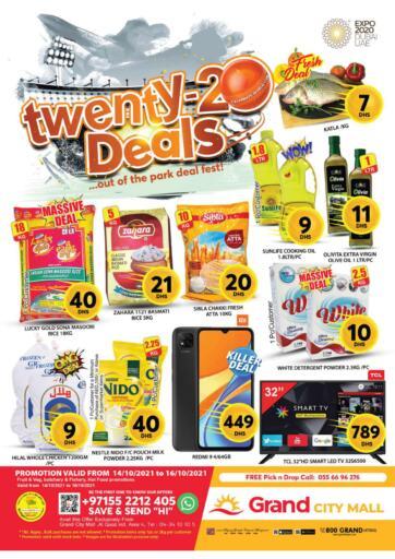UAE - Dubai Grand Hyper Market offers in D4D Online. City Mall - Dubai. . Till 16th October