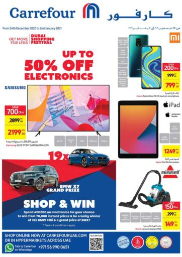 UAE - Ras al Khaimah Carrefour UAE offers in D4D Online. Up To 50% Off on Electronics. Up To 50% Off on Electronics At Carrefour UAE. Get Best Offers On  Electronic Items, Appliances, Gadgets, Toys, Fitness items, Home Needs, Groceries &  Many More At Their Store. Everything At A Single Place Offer Valid Till 2nd January 2021. Enjoy Shopping !!. Till 2nd January