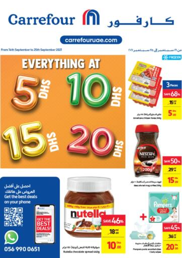 UAE - Umm al Quwain Carrefour UAE offers in D4D Online. Everything at 5, 10, 15, 20 DHS. . Till 25th September
